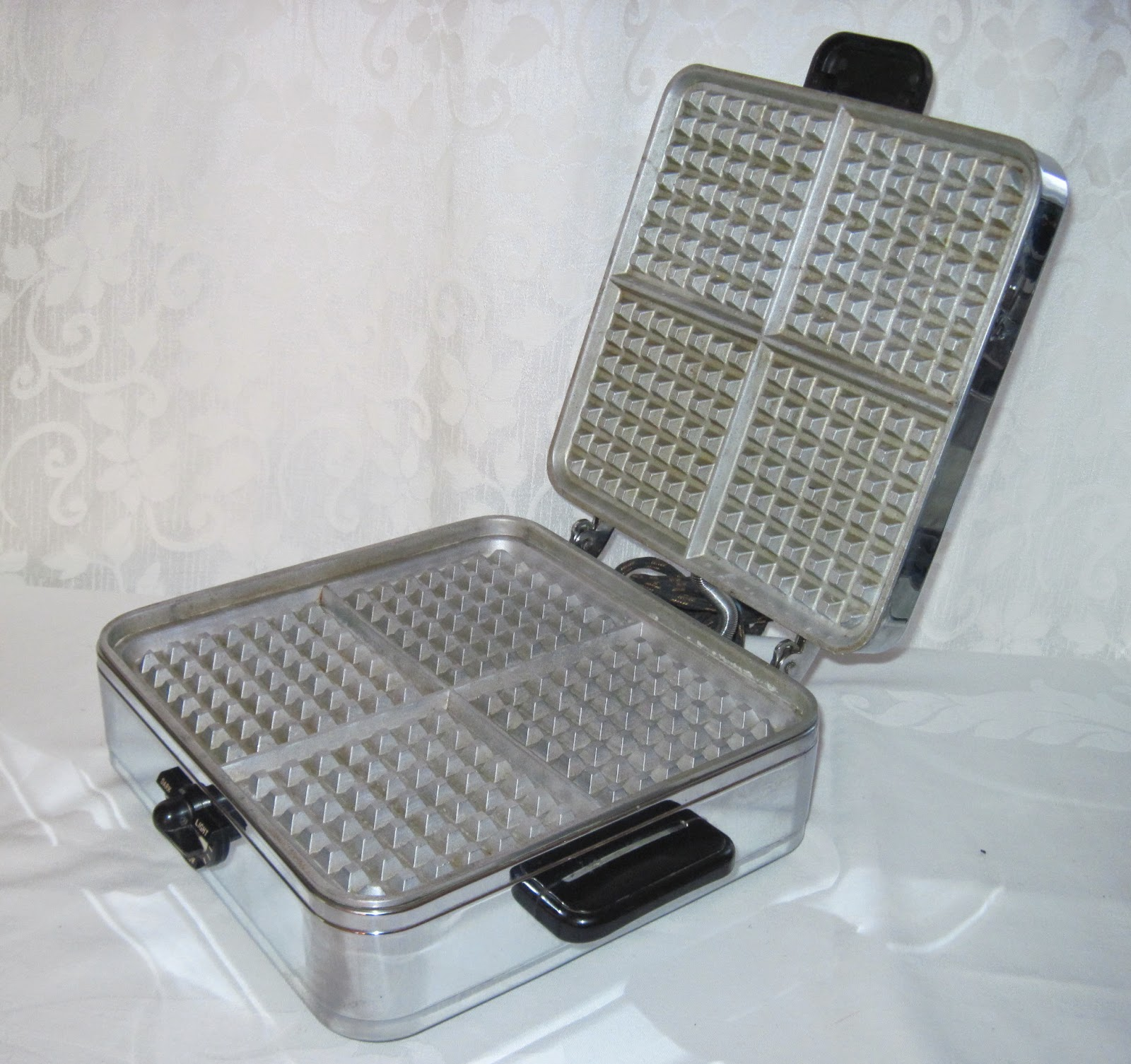 Stick On A Waffle Iron ~ The only way to grease your waffle iron garden of eating