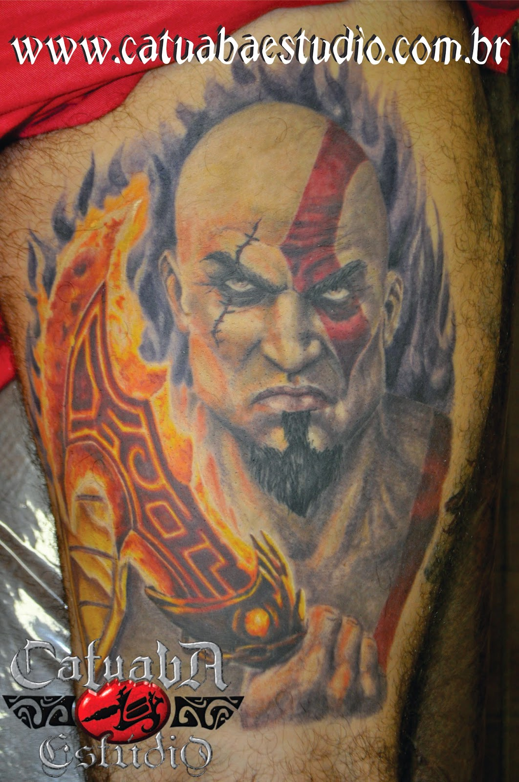 Catuaba videos 2015 personal blog for Kratos tattoo design