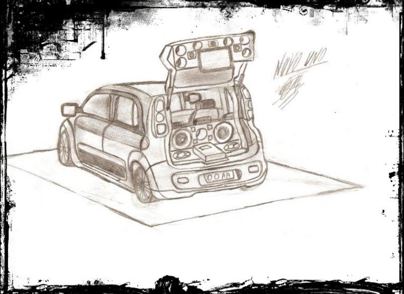 Desenhos De Carros Para Colorir Tunados - Wiring Diagram