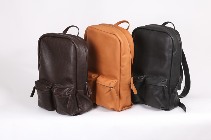Anagon's Blog: All-Leather Backpacks and Messenger Bags