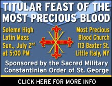 Upcoming Latin Mass