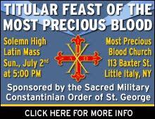 Upcoming Latin Mass