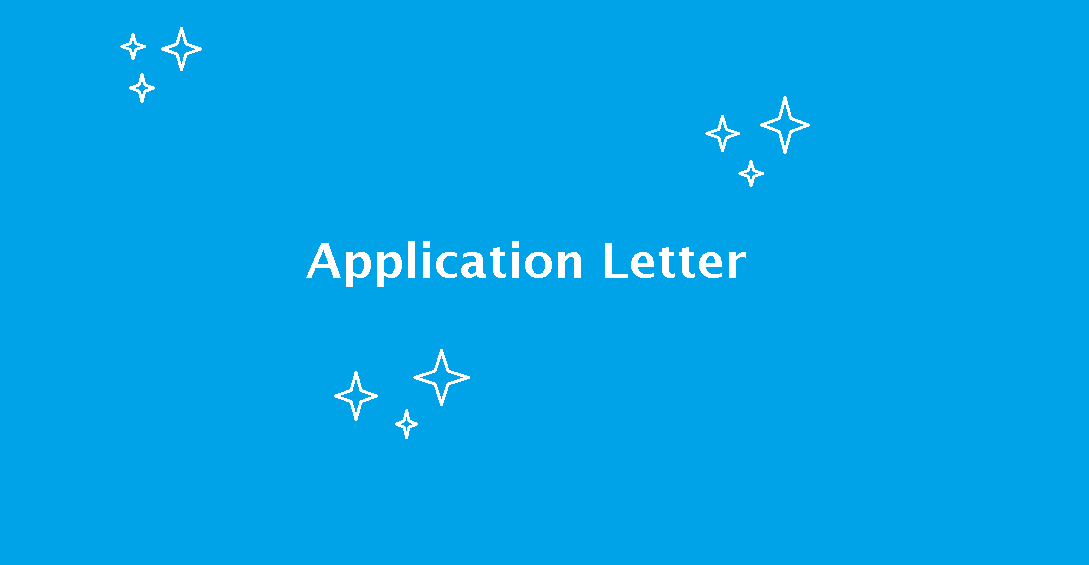 Cara Membuat Application Letter Blog Indra El Firasy