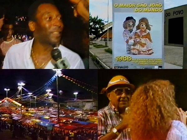 Vídeo de 1987 mostra curiosidades dos primeiros anos do Maior São João do Mundo