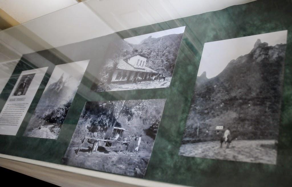 Fotografias originais de época também podem ser vistas