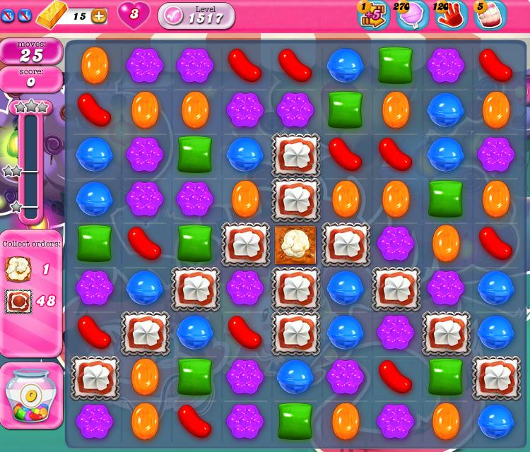 Candy Crush Saga 1517