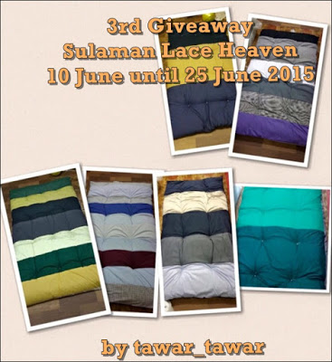 3RD GIVEAWAY SULAMAN LACE HEAVEN