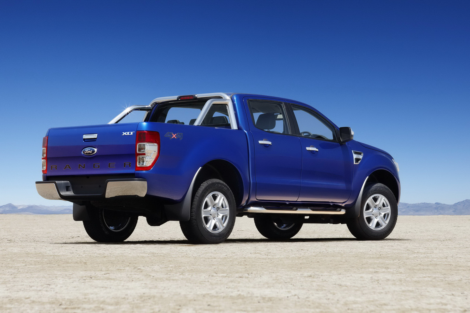 Terenska vozila 2012 Ford Ranger Pickup Truck Rear View