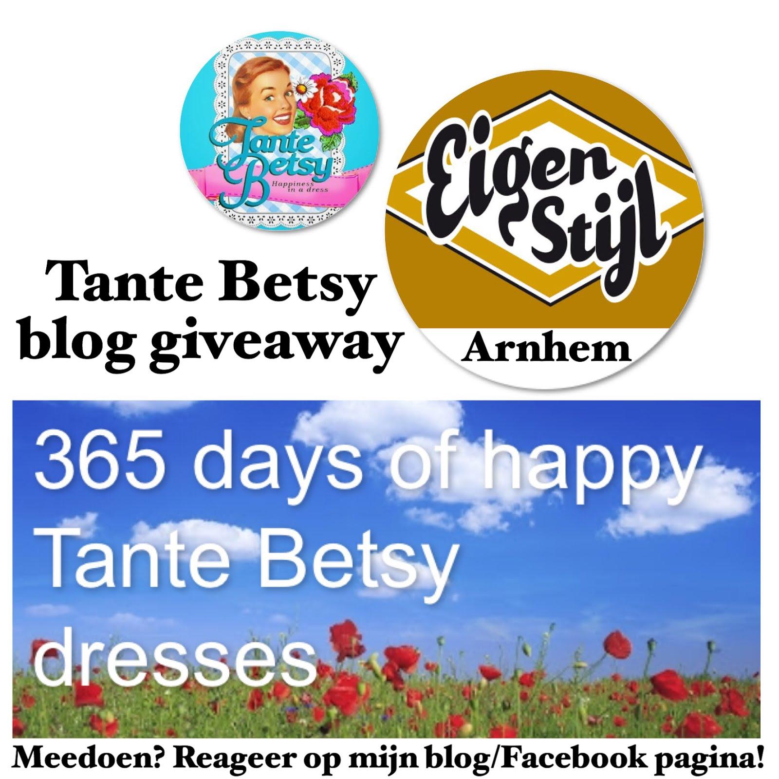 Tante Betsy blog giveaway Eigen Stijl Arnhem
