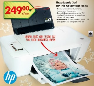 Urządzenie 3w1 drukarka HP 2545