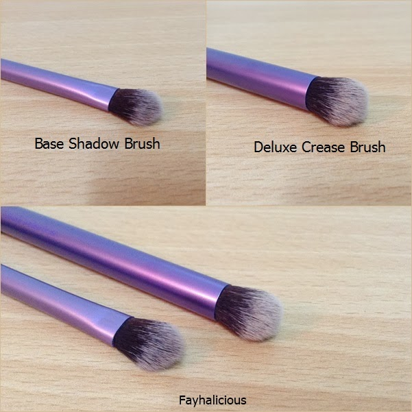 real techniques blending brush. now with these brushes, it has been easier to deal the makeup i put on my eyes because before used just use ring finger blend eye shadows. real techniques blending brush n