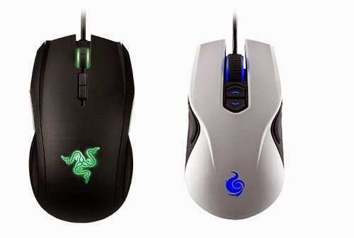 mouse gaming ambidestro