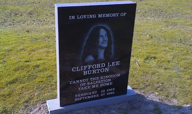 Cliff Burton died at that moment