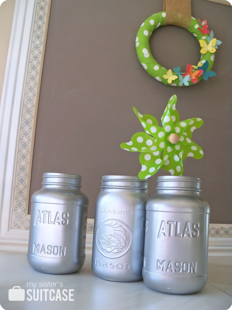 mason jars painted - photo #35