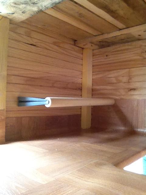 Et si on changeait le monde poulailler construit avec - Chute de lino ...