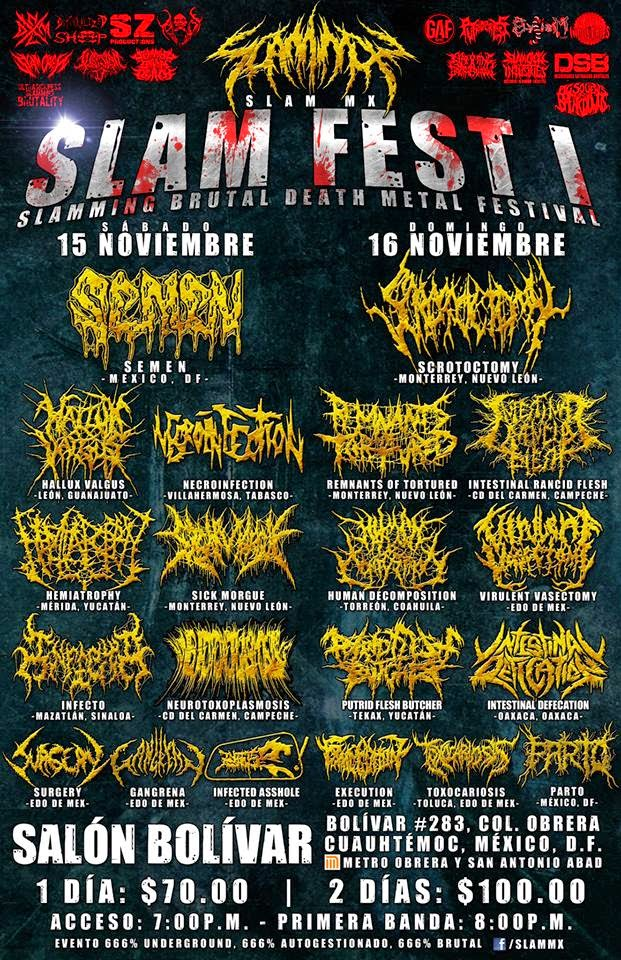 Slam Metal Bands Tours
