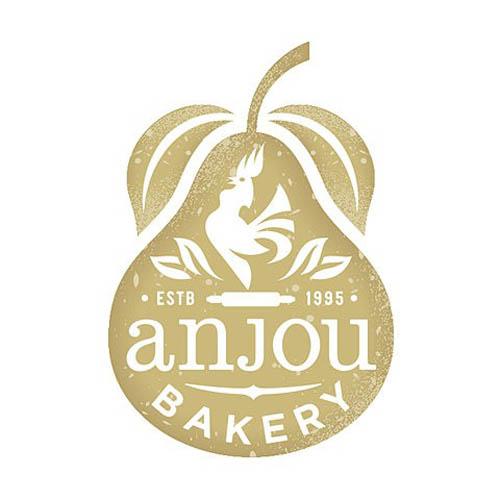 Logótipos Vintage - Anjou Bakery - GardnerDesign