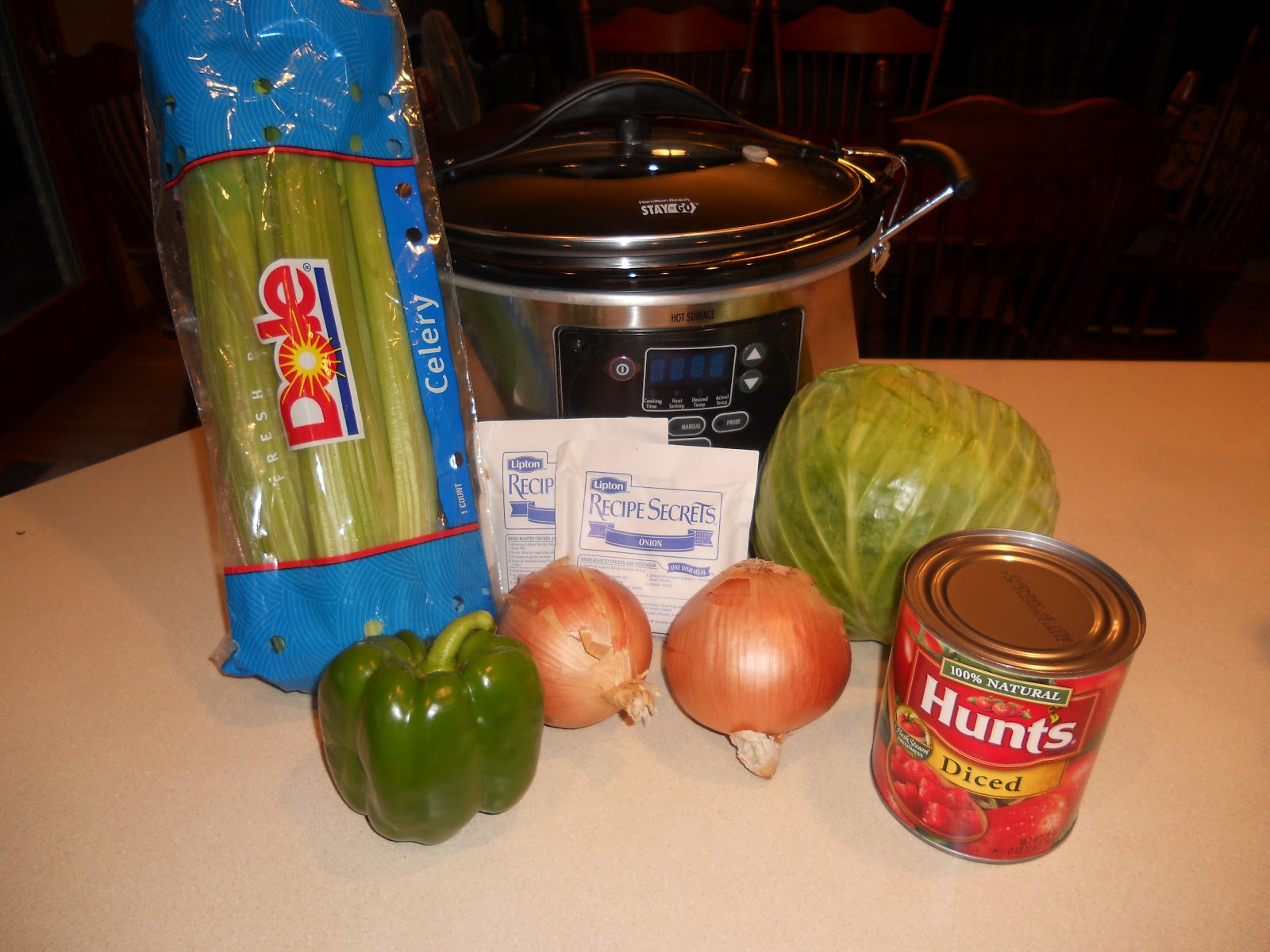 Sisters on a crocking mission cabbage soup gm diet chop the cabbage onion green pepper and celery forumfinder Image collections