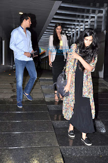 Sonam & Rhea Kapoor snapped at Hakkasan with friends