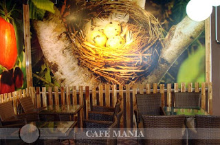 Cafe Mania Gò vấp cà phê sân vườn 2