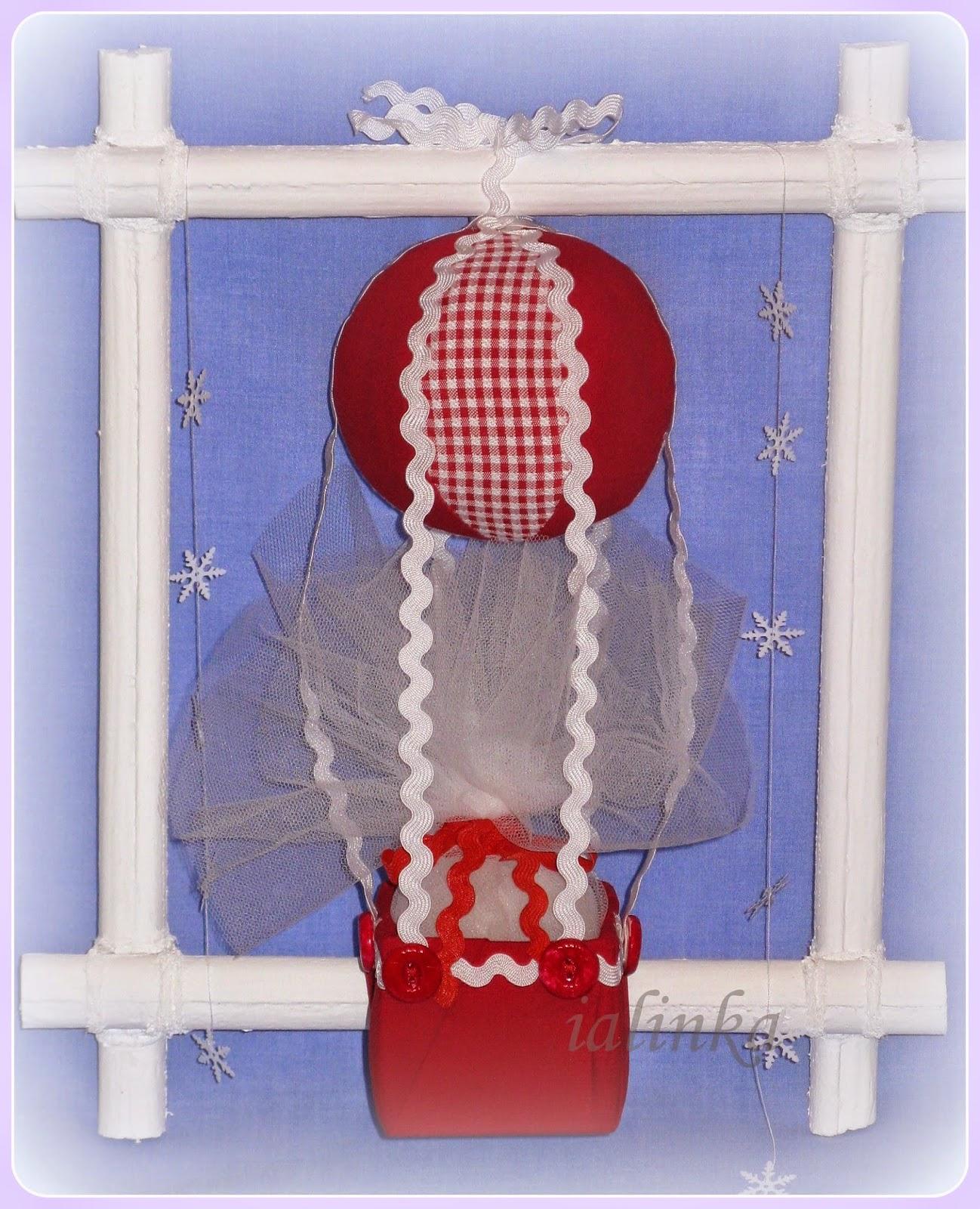 воздушный  шар украшение  на  елку  декор