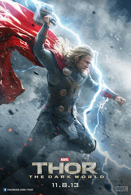 Thor: The Dark World Character Movie Posters - Chris Hemsworth as Thor