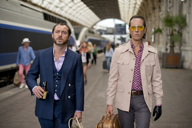Jude Law as Dom Hemingway & Richard E. Grant as Dickie
