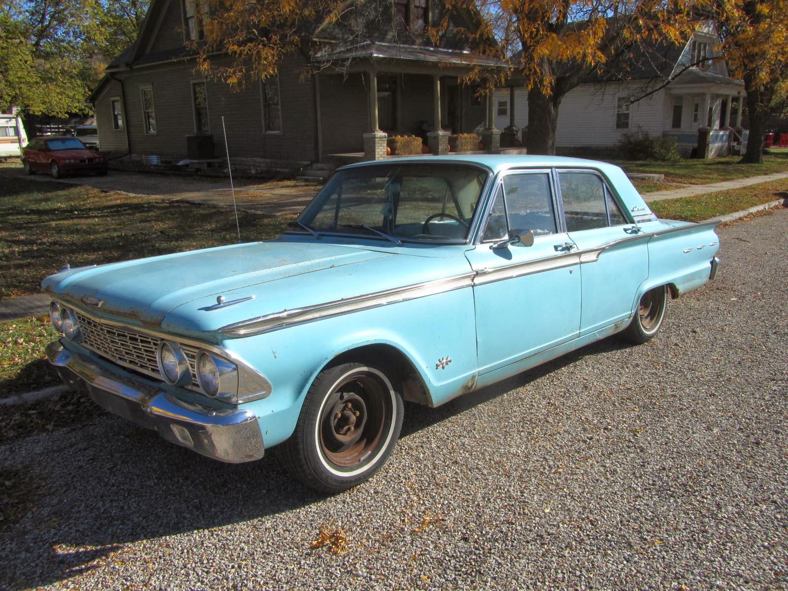 Autoliterate 1962 Ford Fairlane Strong City Kansas