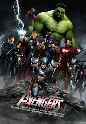 Marvel Avengers 2012 Movie