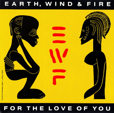 Earth, Wind & Fire - For The Love Of You-Promo-CDM-1990
