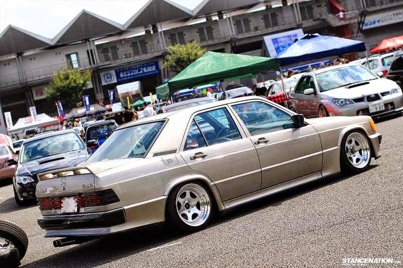 Mercedes benz w201 190e on epsilon wheels benztuning for 190e mercedes benz