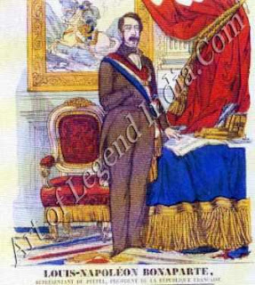 Emperor of the French Louis-Napolem Bonaparte, nephew of the great Napoleon, was the central political figure during Proudhon's career. After two unsuccessful attempts at coups, he became president of France in 1848 and proclaimed himself Emperor in 1852. He was deposed in 1871, after the disasters of the Franco-Prussian War.