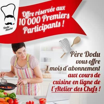 Les bonnes affaires de lacuna 1 mois d 39 abonnement aux - Cours de cuisine par internet ...