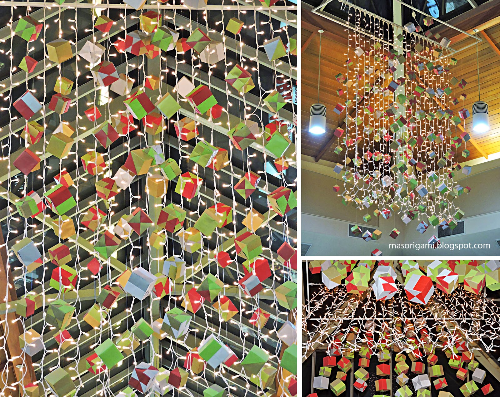 Origami Decoracion Navidad ~ mas origami Decoraci?n navide?a de origami en Mendoza
