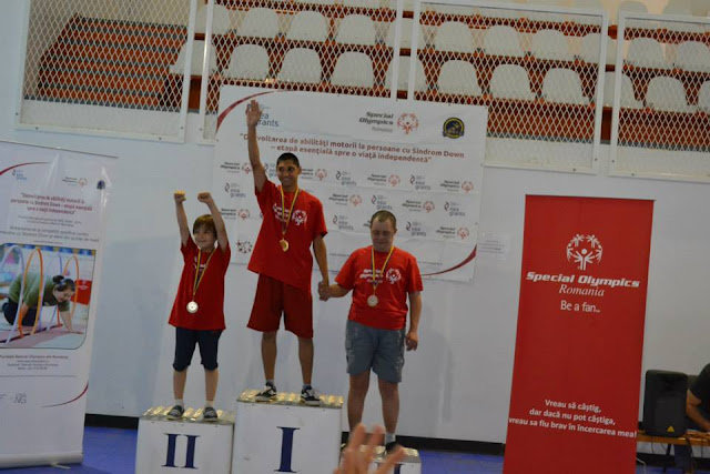 Sustine sportivii Special Olympics Romania la Jocurile Mondiale de Vara de la Los Angeles. Podium