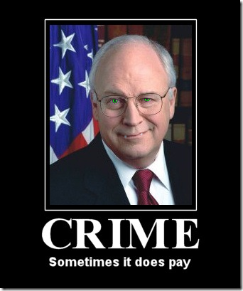 dick cheney arrest
