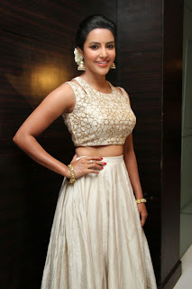 Priya Anand looks Beautiful Gorgeous in Lovely Cream Choli and Designer Cream Ghgagra