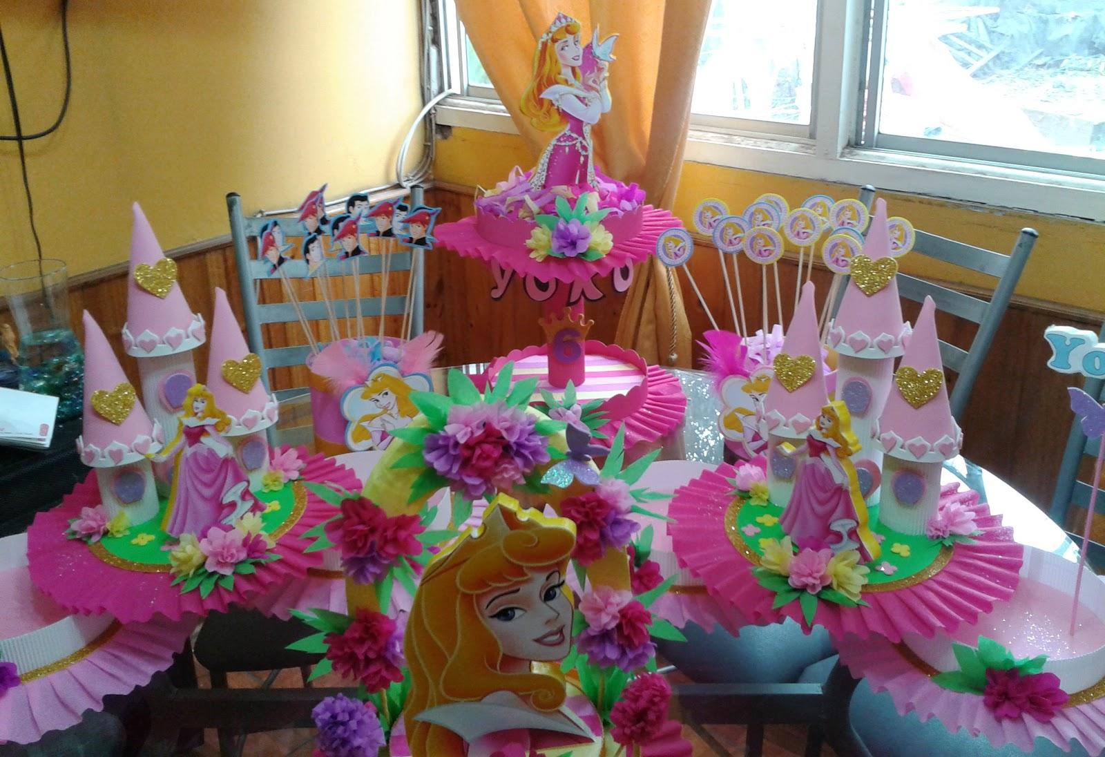 Decoraciones infantiles princesa aurora for Decoraciones infantiles