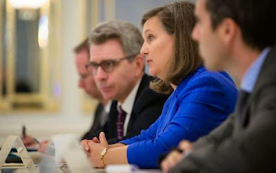 Assistant Secretary of State Nuland will continue talks about Ukraine in Moscow