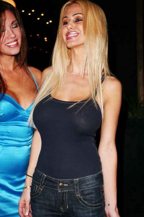Shauna Sand Boobs Visible