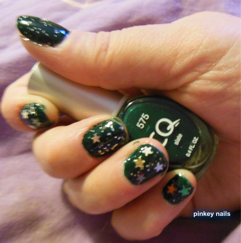 cutting edge polish : cq slate nail polish and Lm nail polish beauty #50