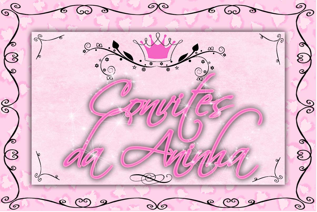 Convites da Aninha