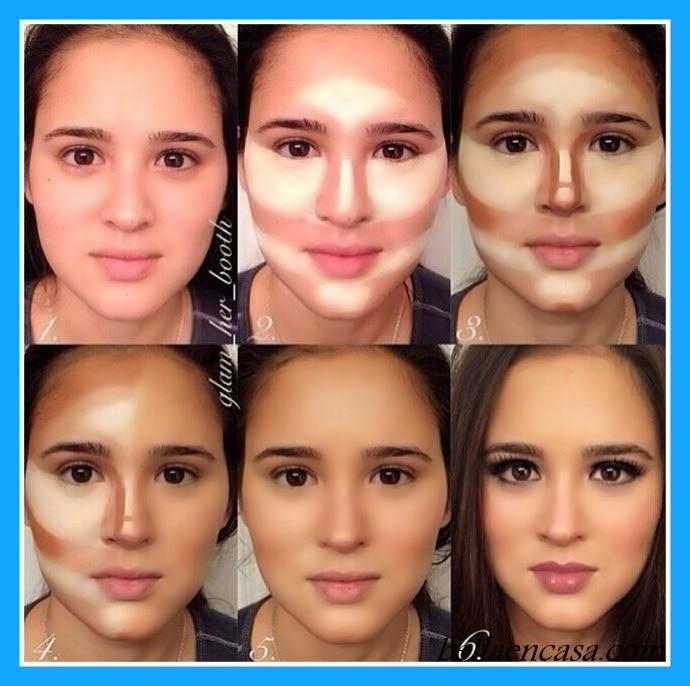 Ahora vayamos a las fotografías de maquillaje de ojos paso a paso