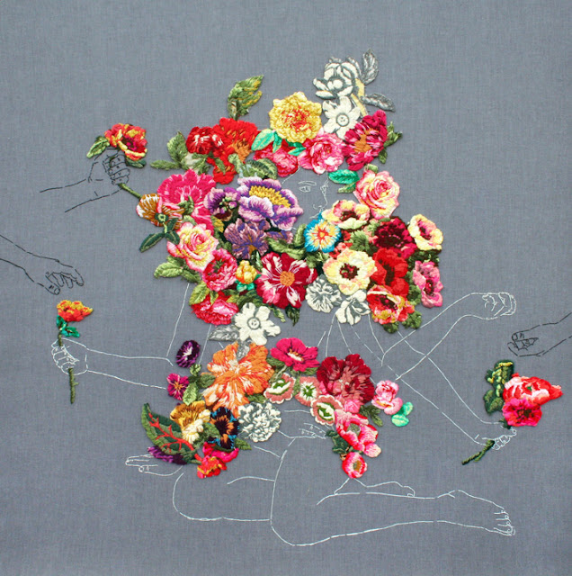 by ana teresa barboza | embroidery on fabric