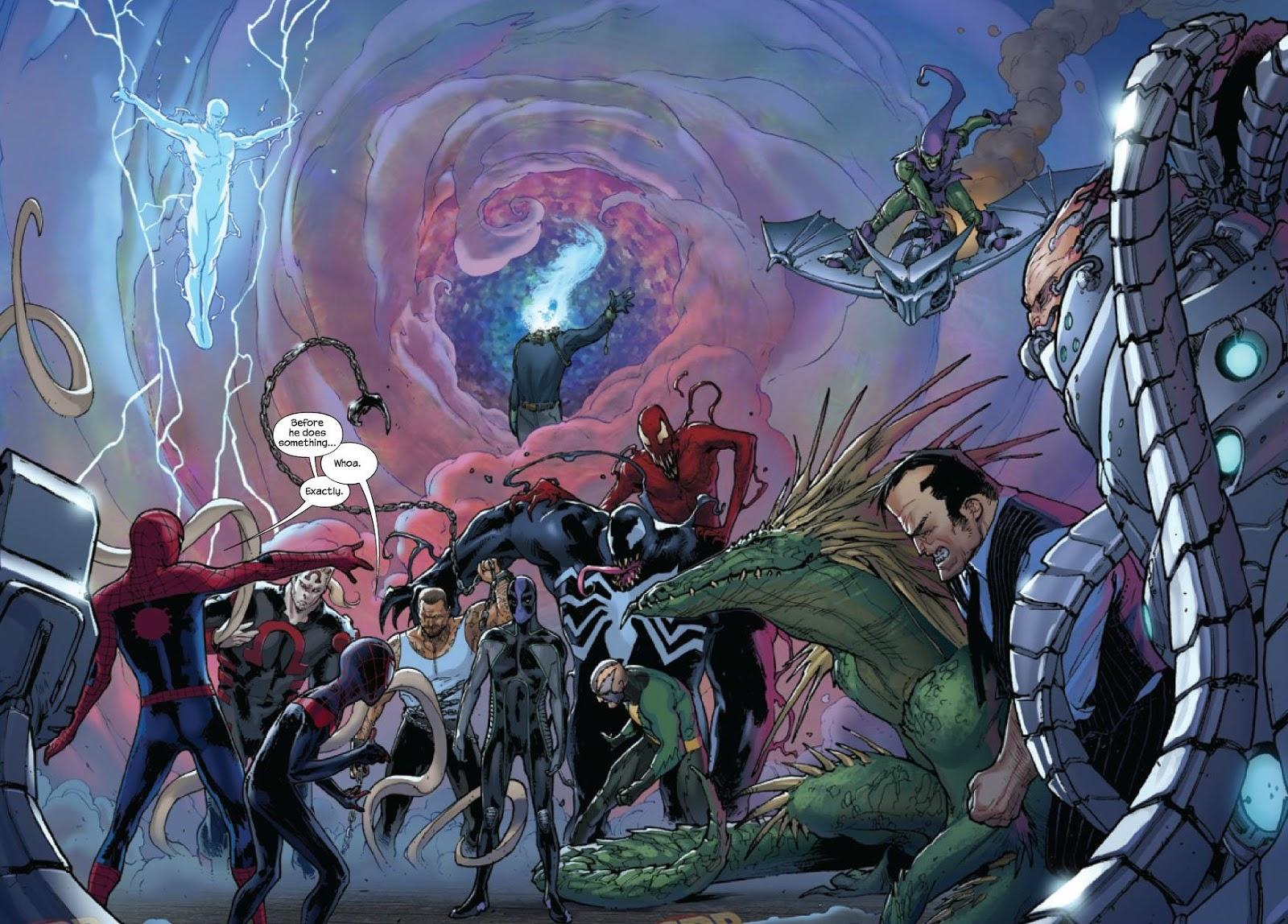 La Cueva del Extrao Reseas comiqueras Spidermen 3