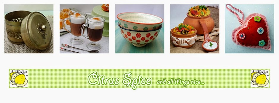 Citrus Spice and all things nice...