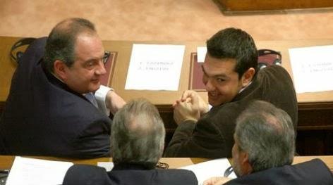Φήμες για μυστική συνάντηση Καραμανλή - Τσίπρα μήπως και μπορέσουν να ανακόψουν τους Έλληνες Εθνικιστές...(Λέμε τώρα...)