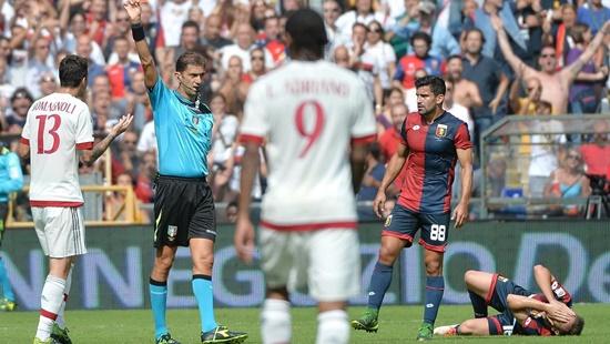 Genoa 1 x 0 Milan - Campeonato Italiano(Calcio) 2015/16