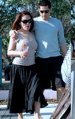 Ai Ai delas Alas with her Italian BF