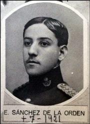 Capitán Eloy Sánchez de la Orden